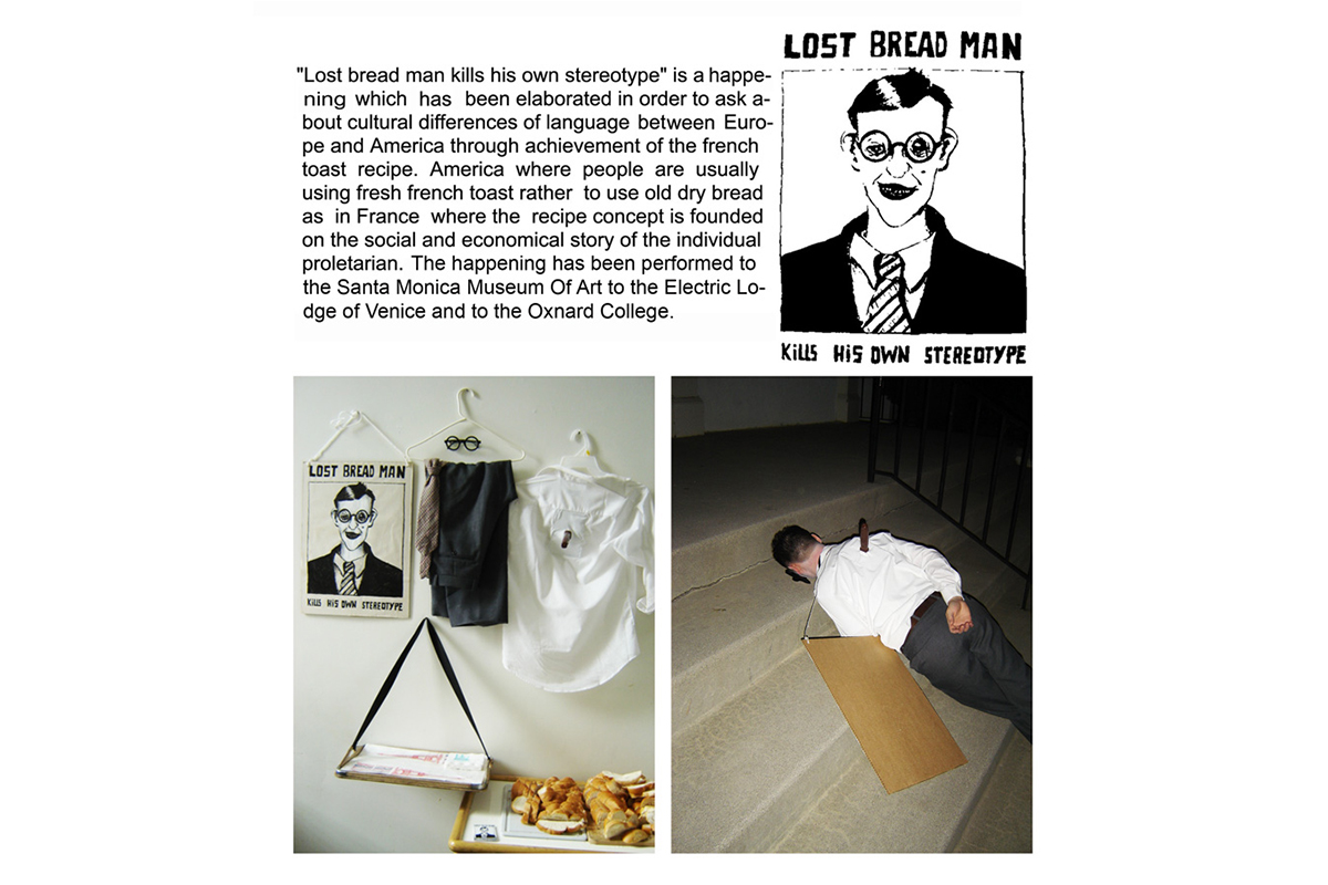 Lost Bread Man Happening L.A