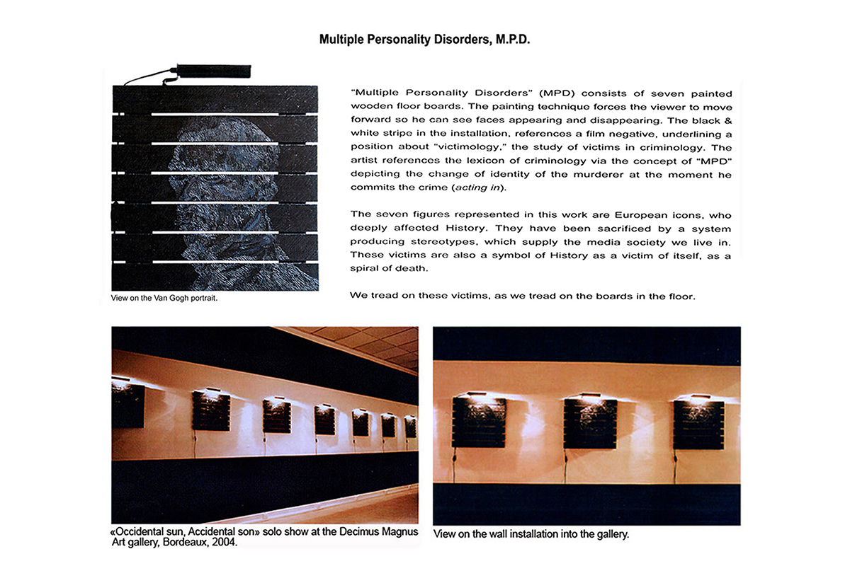 Multiple Personality Disorders, M.P.D.