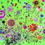 flower-granddad-mixed-media-on-canvas-260x194cm-2006
