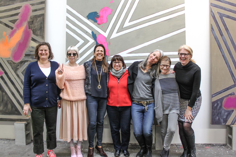 2015 Collectors Circle Event at Alexandra Grant's Studio