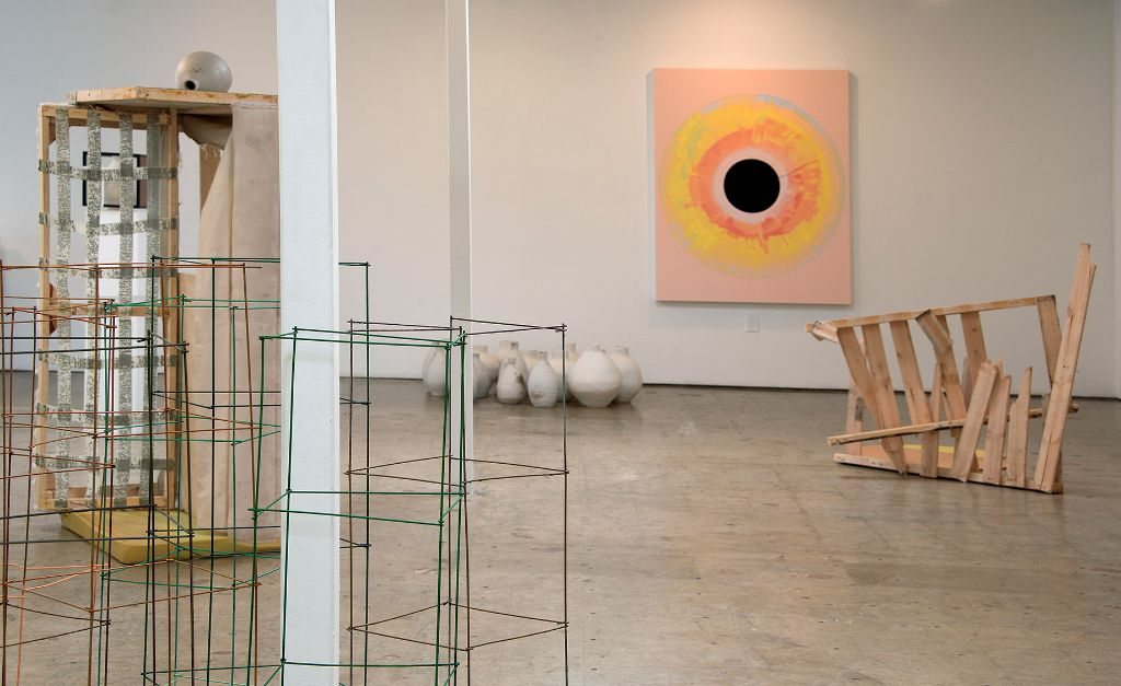 Elena Bajo, With Entheogenic Intent (Burn the Witch), installation view, courtesy of 18th Street Arts Center, photo by John Lucas