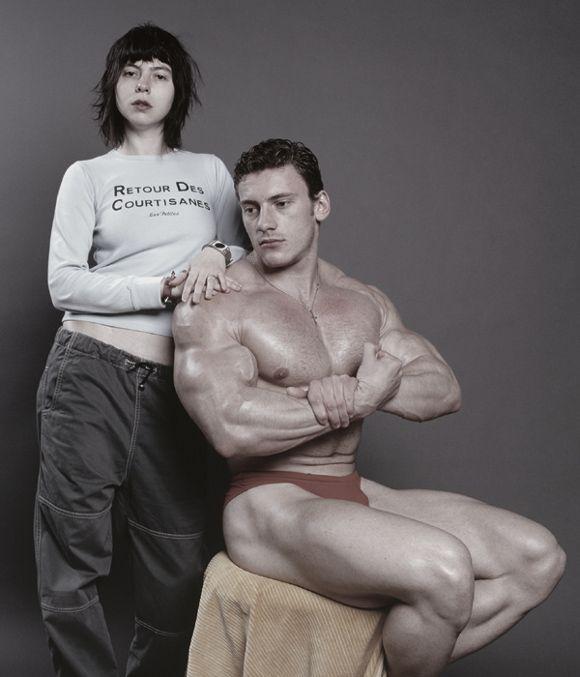 Alexandra Croitoru, Untitled ( Bodybuilder), 2003.