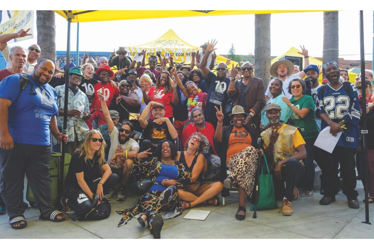 Los Angeles Poverty Department, Festival For All Skid Row Artists, 2019. Gladys Park. Courtesy of Goethe Institut.