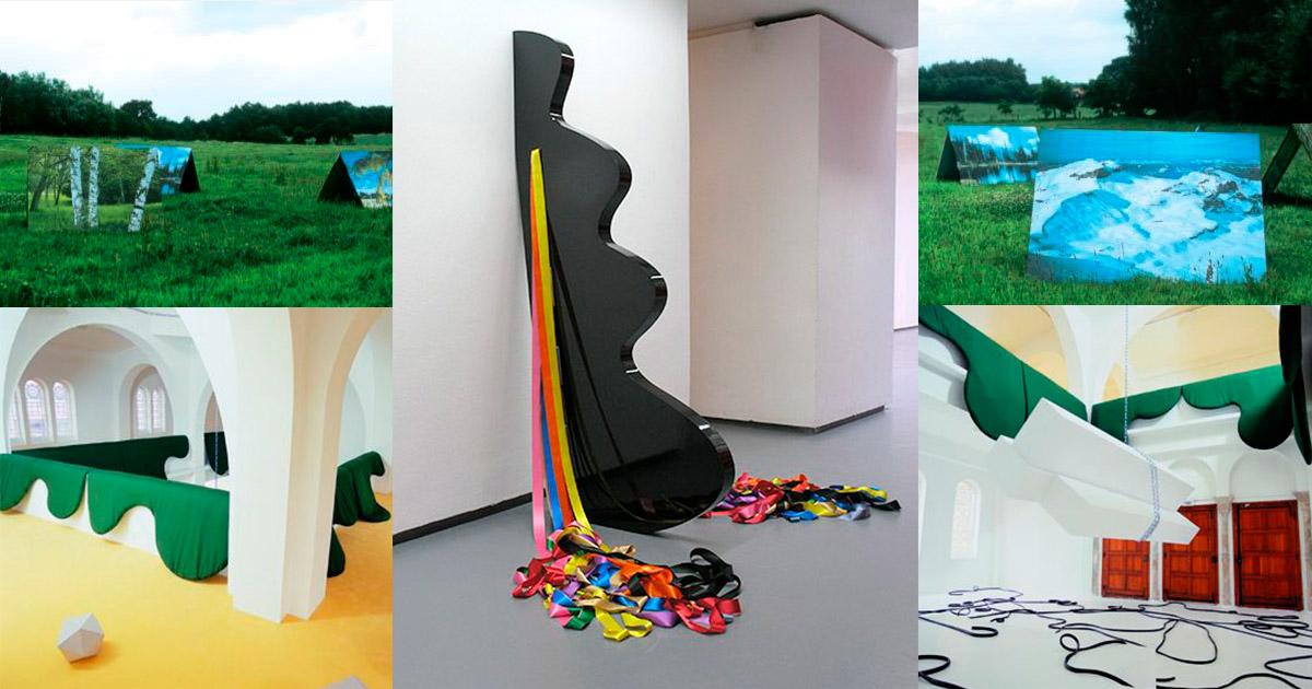 Delphine Coindet | French Installation Artist