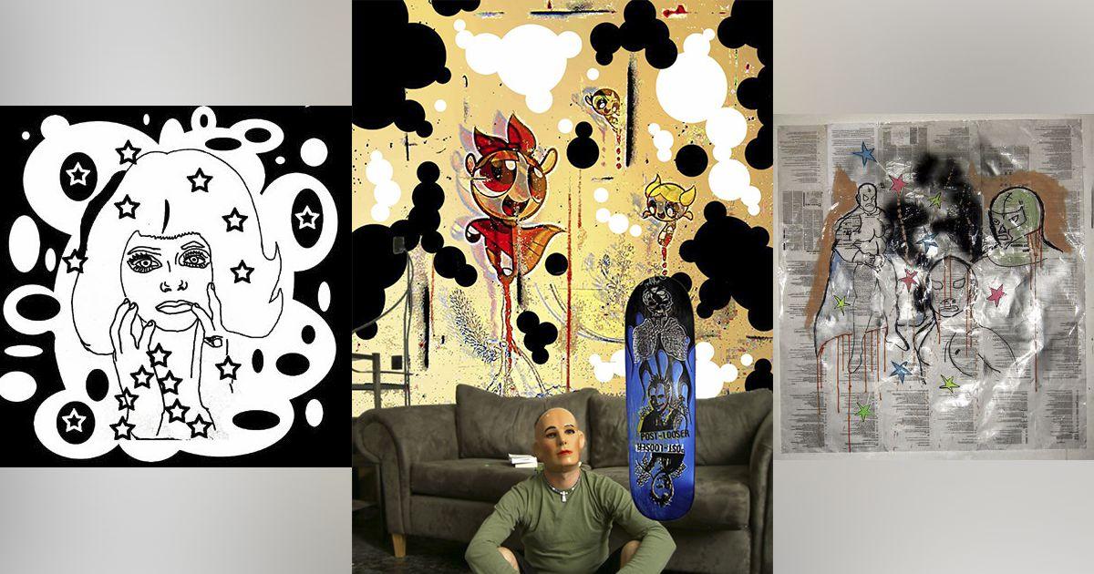 Denis Brun | Mixed media and digital artist