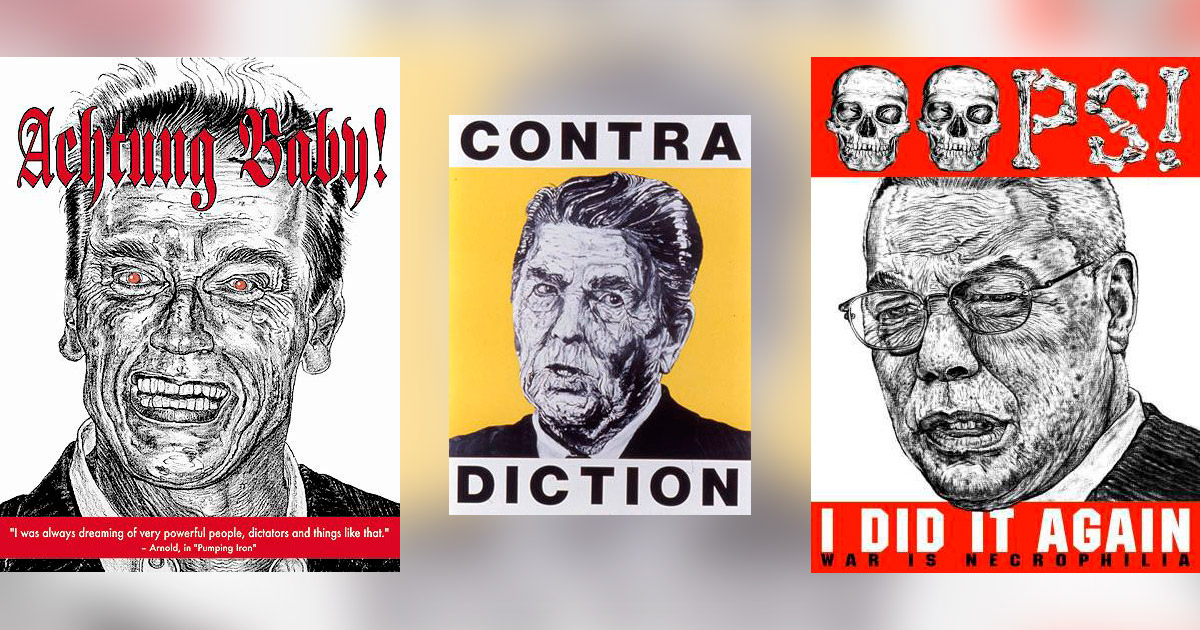 Robbie Conal political posters
