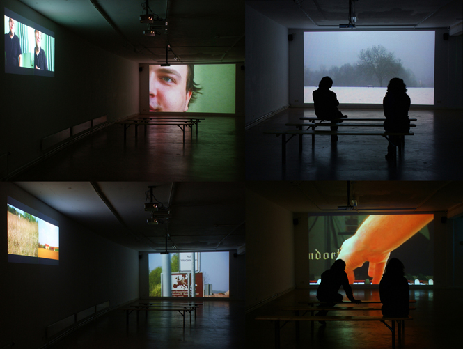 José Carlos Teixeira, Between Clarity And Fog, 2009, Video Installation