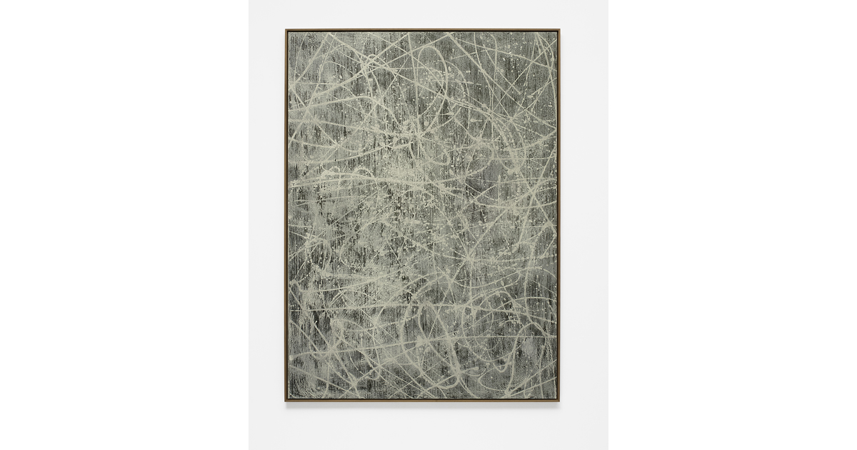 Alexandra Hopf, Board #13, 2015, 150 x 110 cm, acrylic, oil stick, gouache on acrylic glass