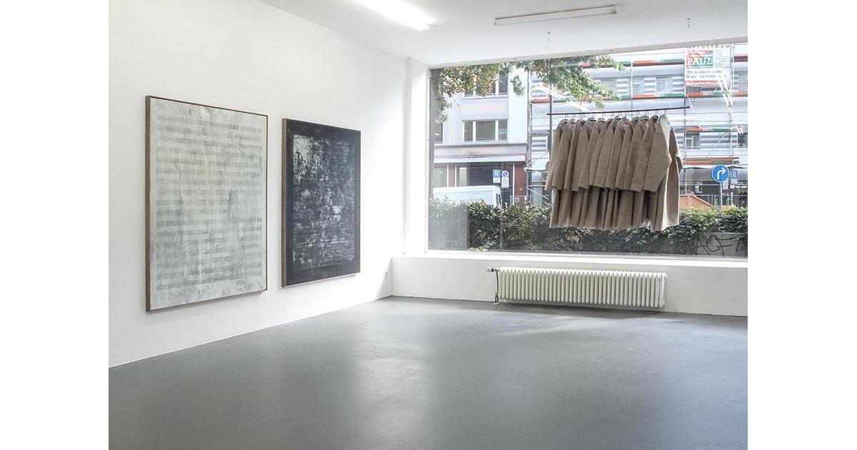 Alexandra Hopf, 2015, exhibition view Maison Tatlin, Galerie, Scharmann Laskowski, Cologne.