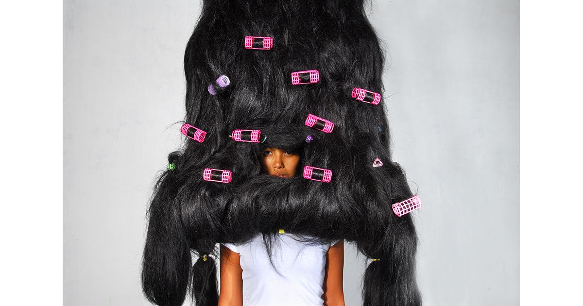 Shaggy Hair, Iron, Curlers, 2008.