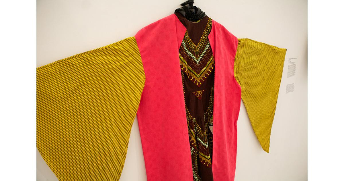 Kenyatta A. C. Hinkle, Kentrifican Healing Garment, 2012, photo by Thom Carroll.