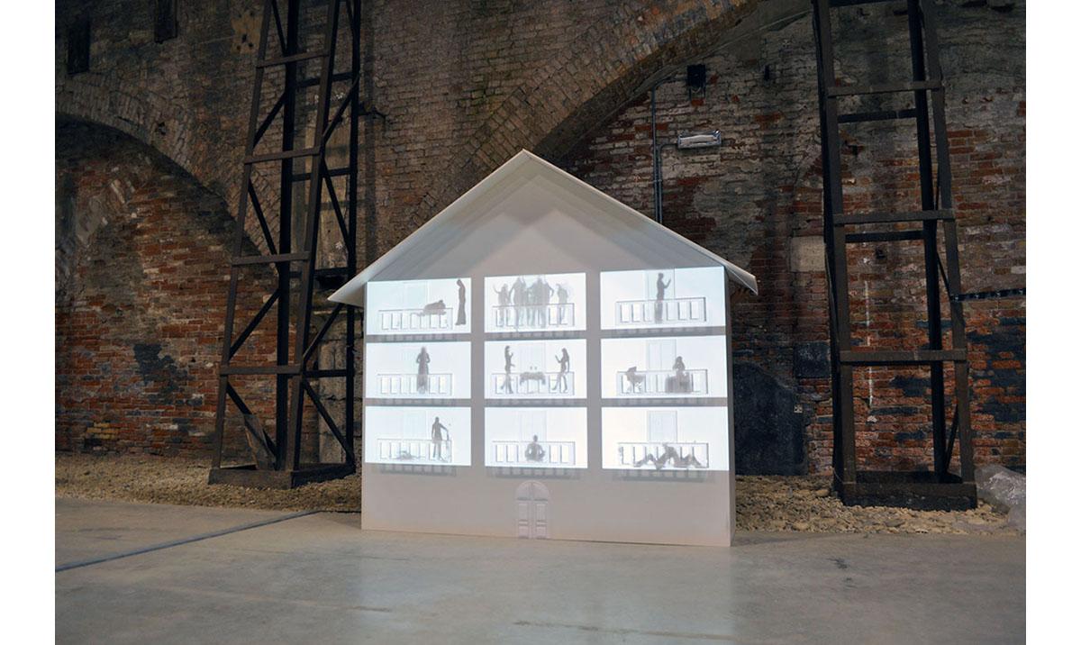 Elisa Laraia, Private Conversation, Installation Project, 2011. 54 Degrees, Biennale Di Venezia.