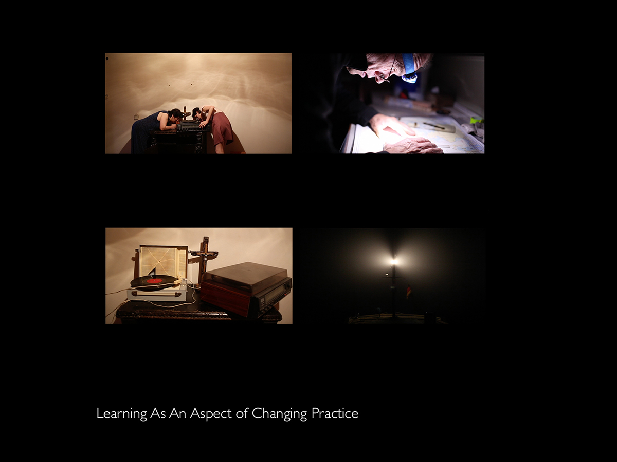 """Learning As An Aspect Of Changing Practice"""