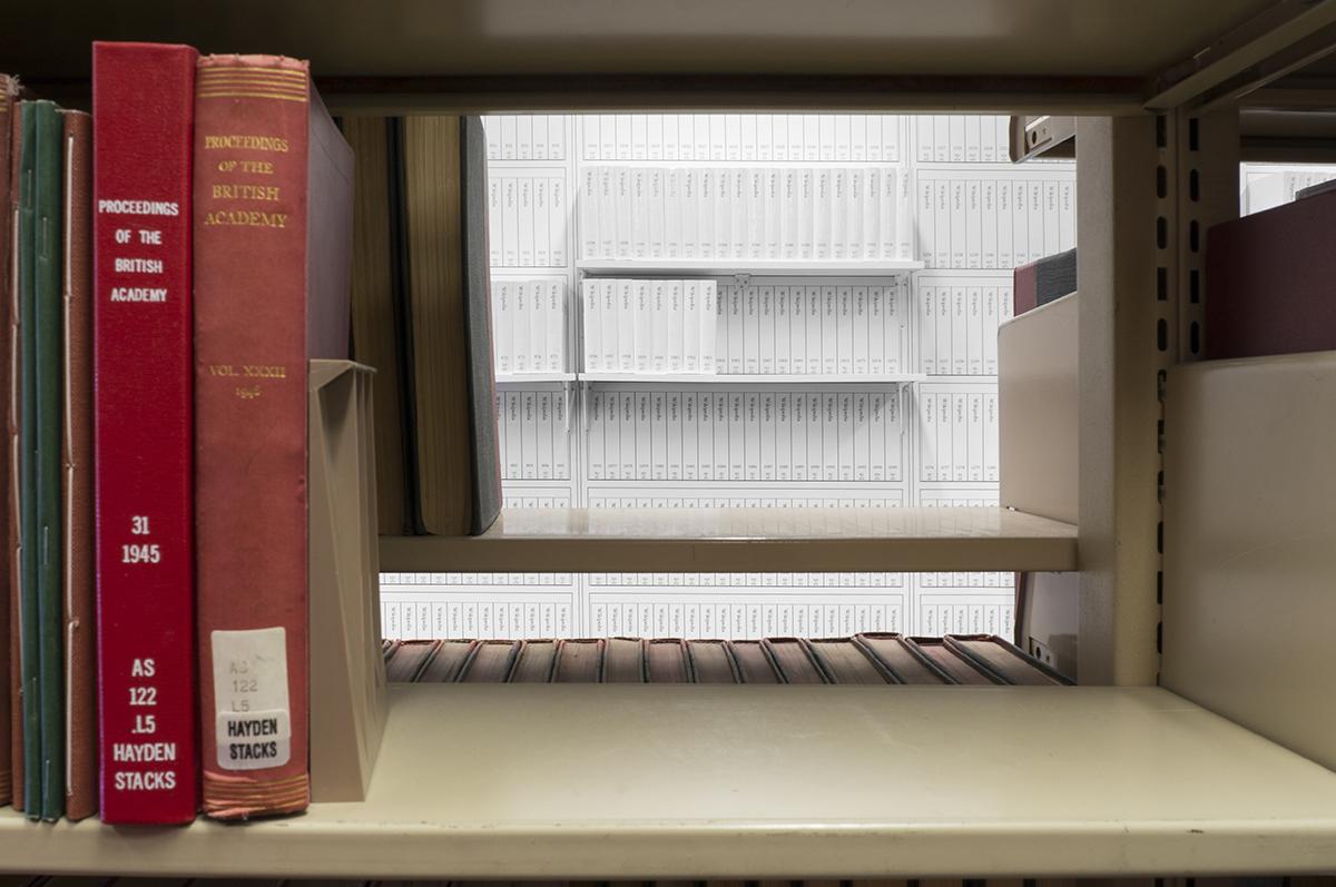 Print Wikipedia At Hayden Library, Arizona State University