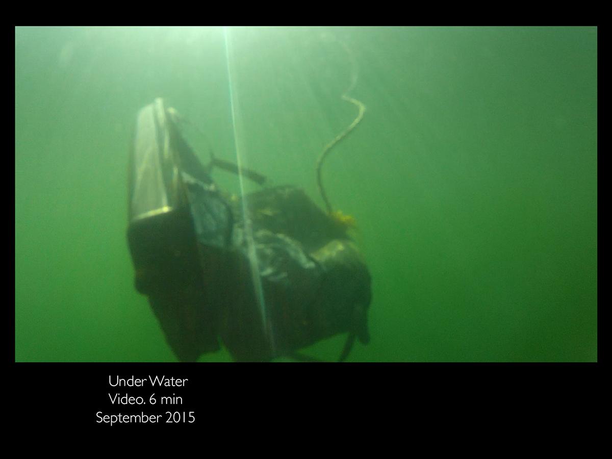 """""""Under Water"""", Video, 2015"""