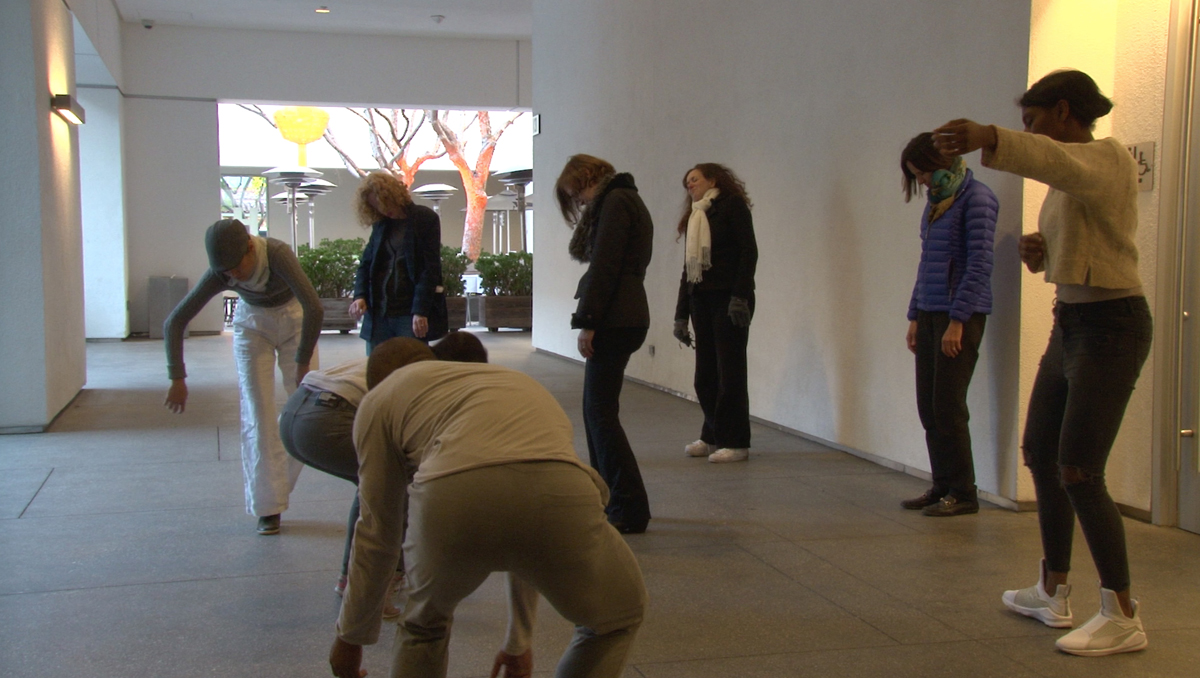 The Laboratory For Embodied Intelligences, Public Workshop At The Hammer Museum Photo: Carole Kim