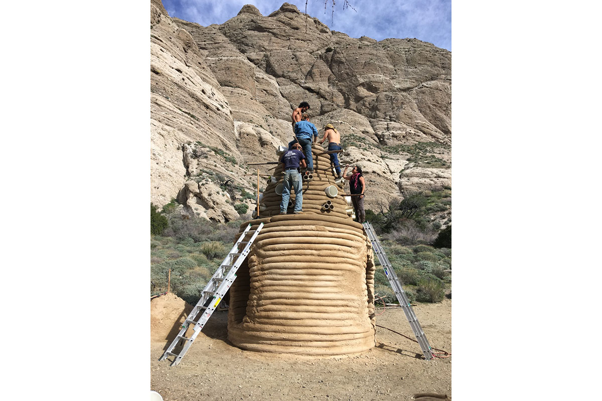 "Installing ""One I Call"" At Whitewater Preserve"