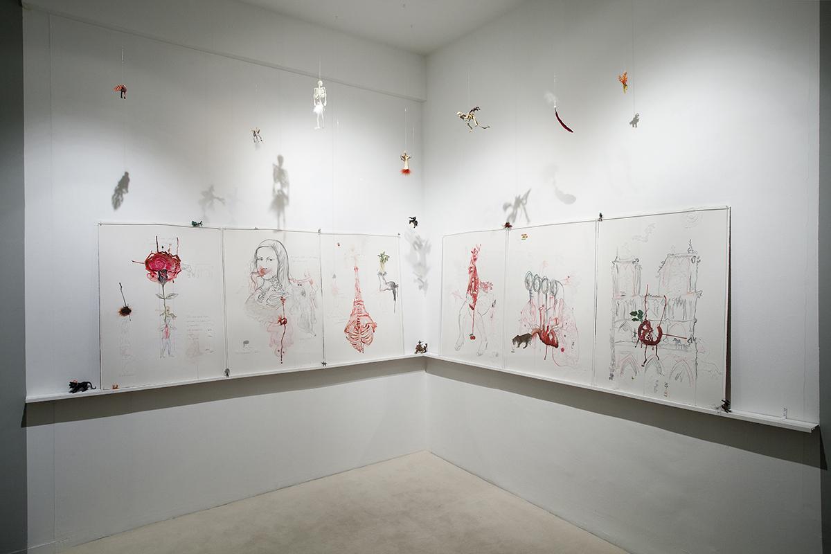 Devoid, Installation Shot, Galerie Nathalie Obadia, Paris 2012 Credits: Galerie Nathalie Obadia