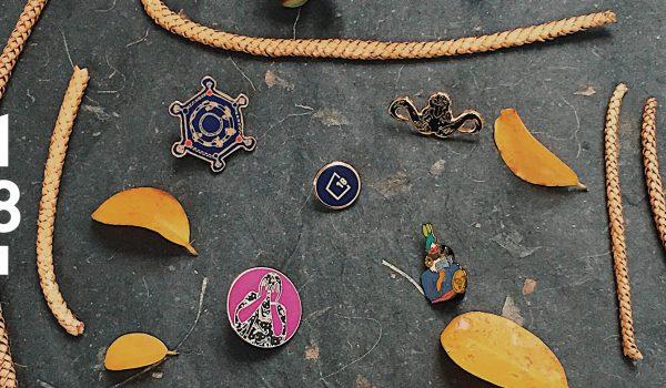 Artist-designed Pins