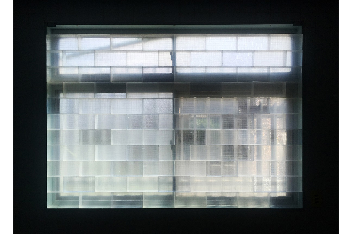 Miyuki Yokomizo, 'Aero_sculpture (installation View)', Plastic Sheet, OPP Tape, 1 Piece: 10.5 × 21.0 × 6.0 Cm, 2017