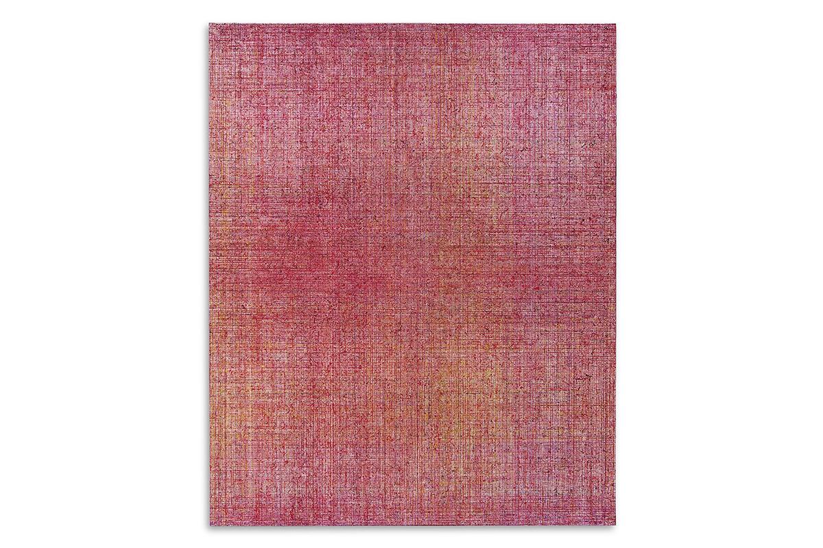 Miyuki Yokomizo, 'Weave Words F100. 002. 2012', oil on canvas, 162.1 × 130.3 cm, 2012