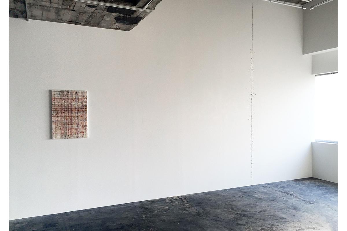 Miyuki Yokomizo, 'Installation', Oil, Line: 400.0 Cm (h), 2016