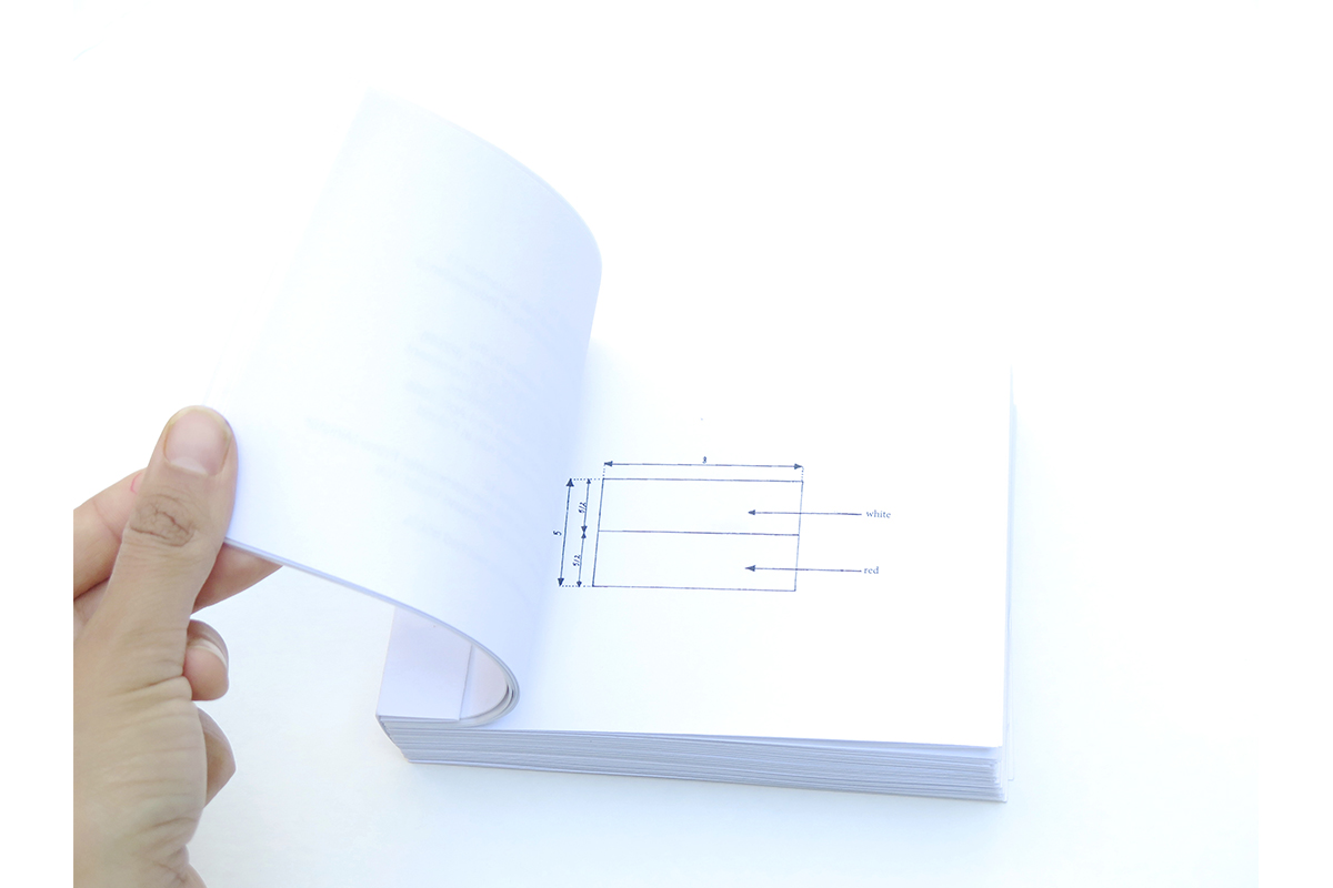 Aleksandra Wałaszek, 'Language Barier Exist Booklet 01'