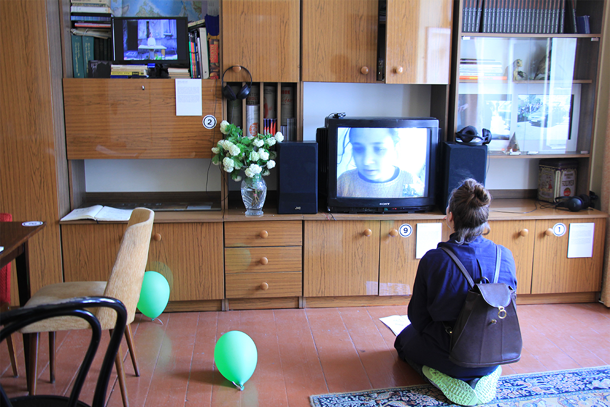 Aleksandra Wałaszek, 'Live TV', Happening And Installation, Live Streaming, 2015, Photo: Karolina Włodek