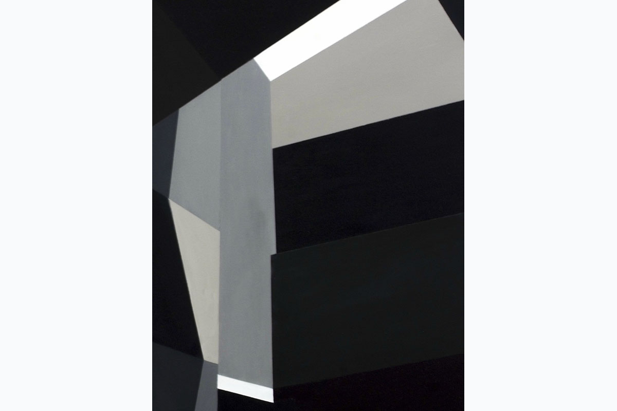 Tony Moss, Sensing Space 1, 2014, 815 X 610, Acrylic On Canvas. Courtesy Of The Artist.