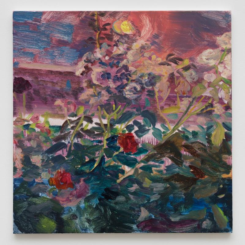 Hyein Lee, Albertine Series, Jun 2017. Sat. 02:00~05:00, 72.7x60cmx8, Oil On Canvas. Photo By Kwon O-yeol.