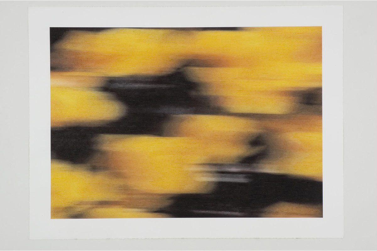 """Jeff Beall, Untitled (More Than Flesh And Blood), 2005, 30x40"""", Inkjet And Gouache On Watercolor Paper, Angles Gallery, Santa Monica."""