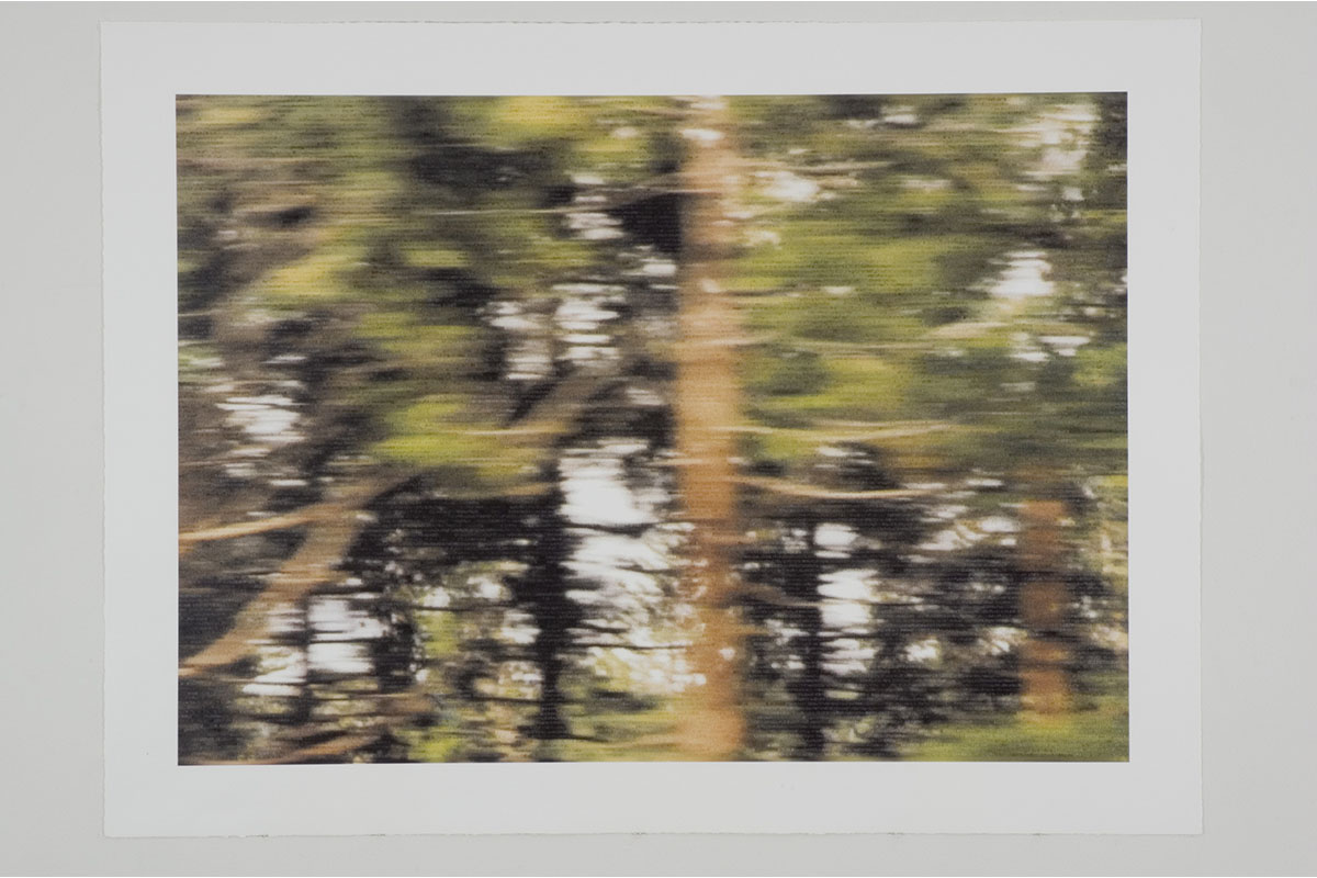 """Jeff Beall, Untitled (I'm Not There (1956)), 2004, 30x40"""", Inkjet And Gouache On Watercolor Paper, Angles Gallery, Santa Monica."""