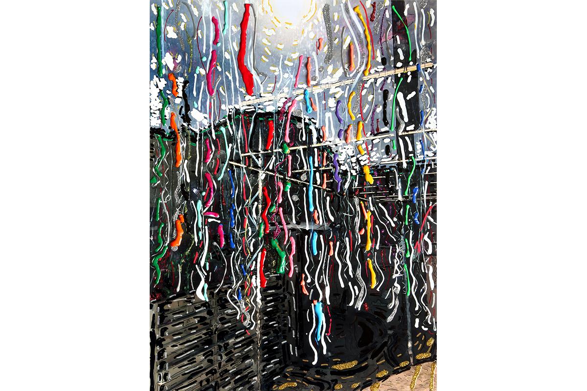 "Paul Pescador, ""Figuergoa Street,"" Digital C-Print, 2018."