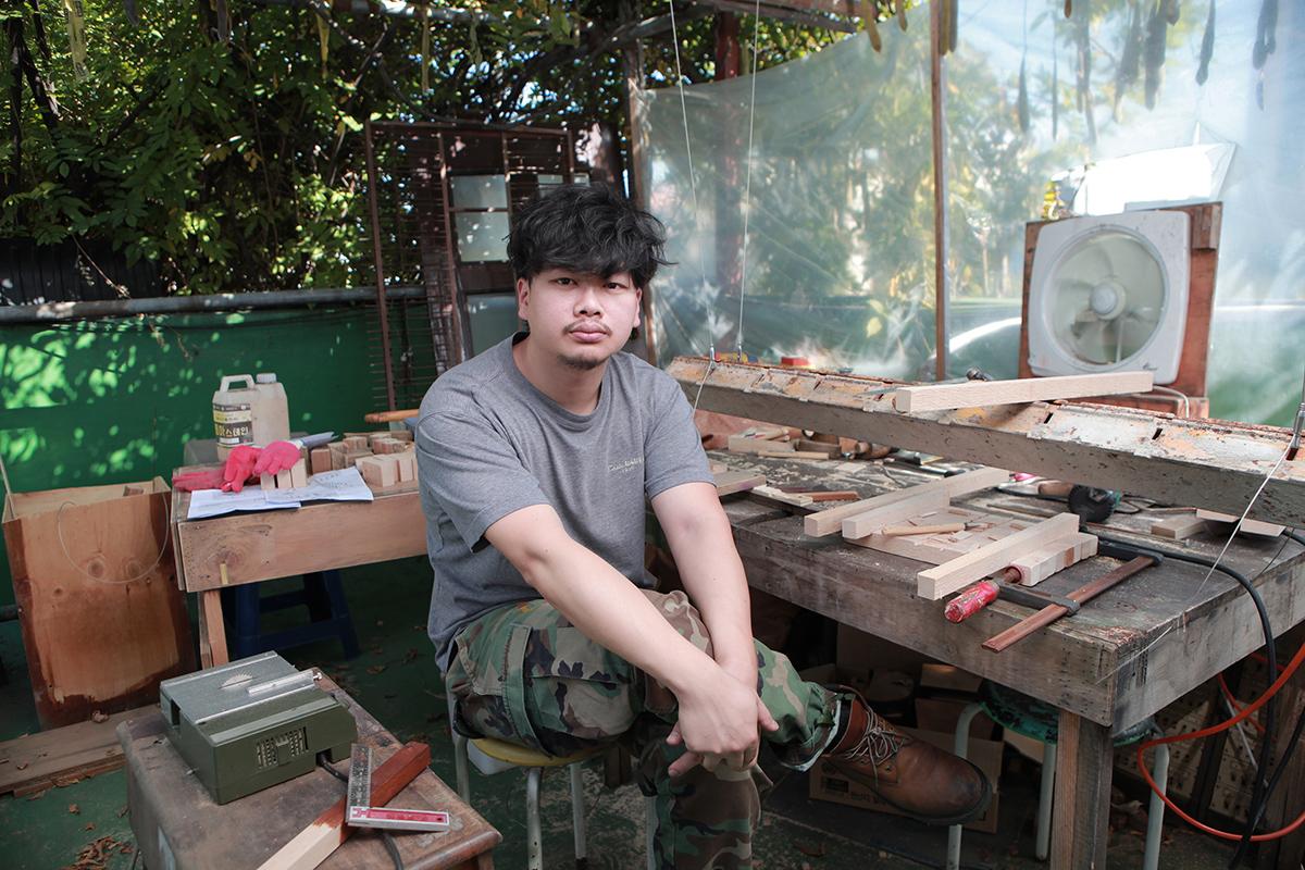 Yang Jung Uk, Artist Headshot