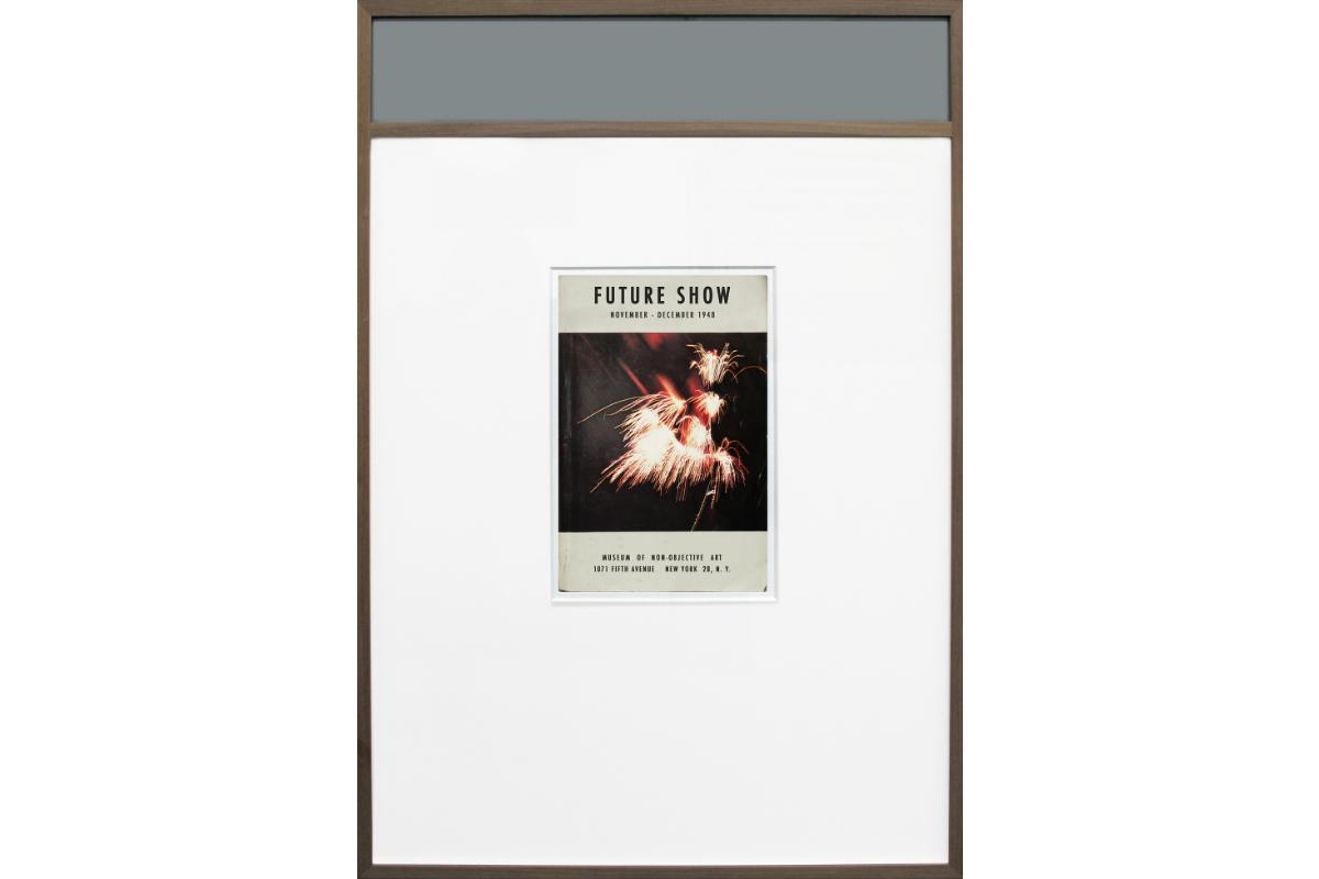 Alexandra Hopf, Future Show, 2012, 76 x 53 cm, fine art print, artist frame. Photo by Alexandra Hopf. Courtesy of Alexandra Hopf.