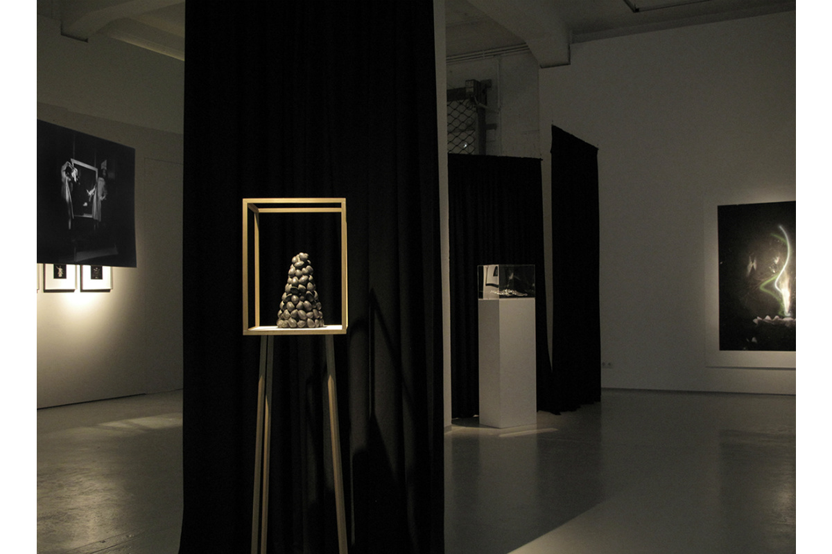 Alexandra Hopf, Installation View: Reflection and Empathy, Düsseldorf, Germany. Photo by Alexandra Hopf. Courtesy of Kai 10 Arthena Foundation.