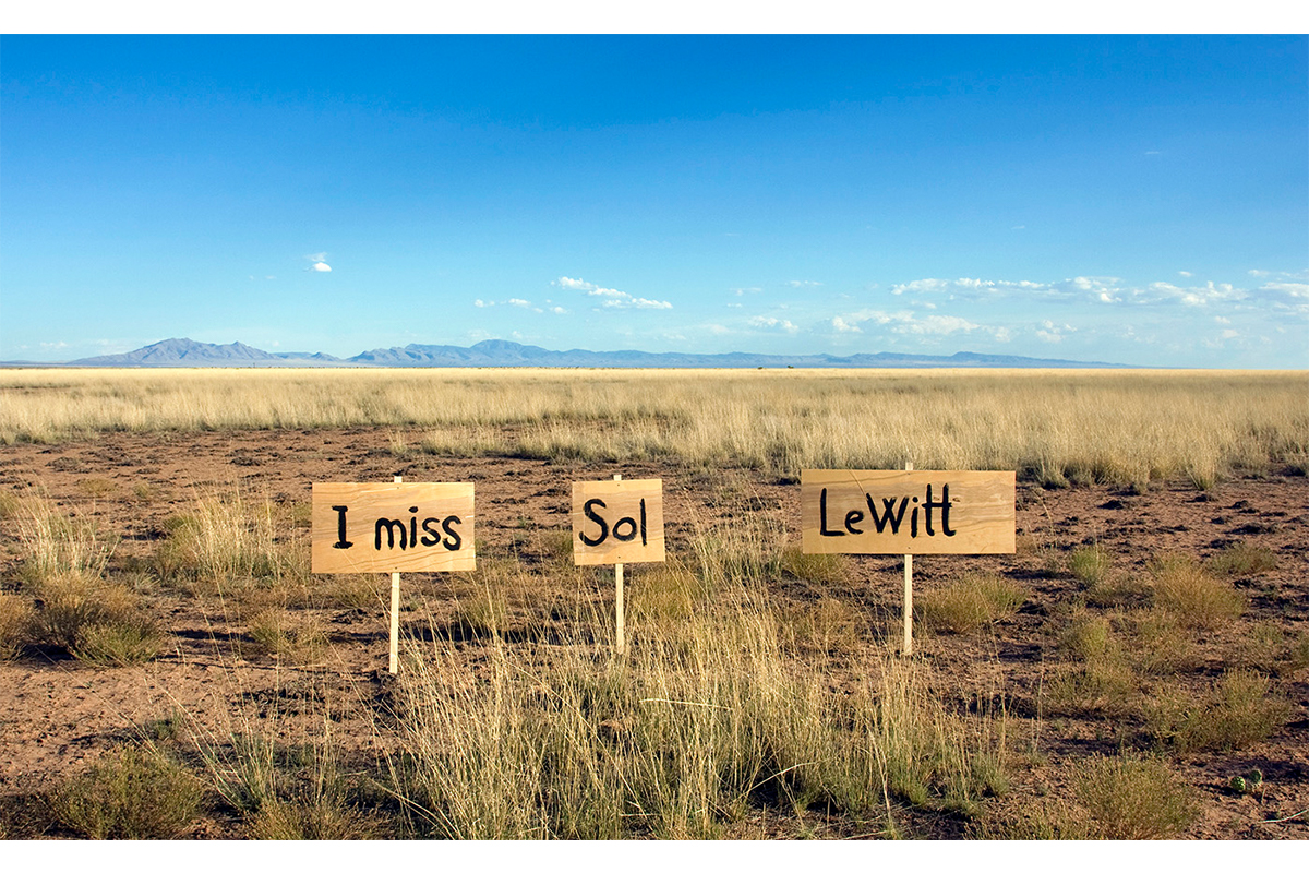 Nikolaj Recke, I Miss Sol LeWitt, 2010, Video Still, Socorro New Mexico. Photo By Nikolaj Recke. Courtesy Of The Artist.