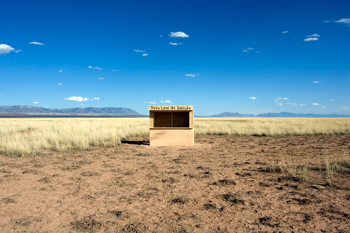Nikolaj Recke, Trinity Land Art institute, 2010, New Mexico. Photo by Nikolaj Recke. Courtesy of the artist.