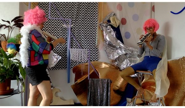 Madison Bycroft And Angelica Falkeling, Pity Dust (still), 2016. 2:14 Min, 8:49 Min. One Channel Digital Music Video In Short And Long Version. Courtesy Of The Artists.
