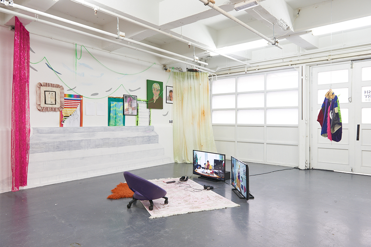 Angelica Falkeling, A Living Jacket, 2017. Installation view. Photo by Sol Archer. Courtesy of the artists.