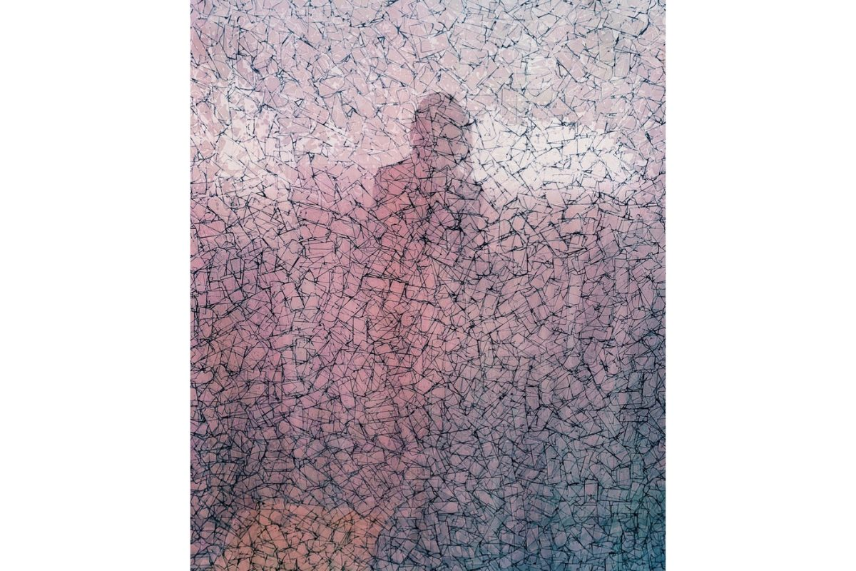 "Deborah Lynn Irmas, Ininterrompue (self-portrait), 2019-20. 8"" x 10"". Photo, inkjet print on Japanese paper. Courtesy of the artists."