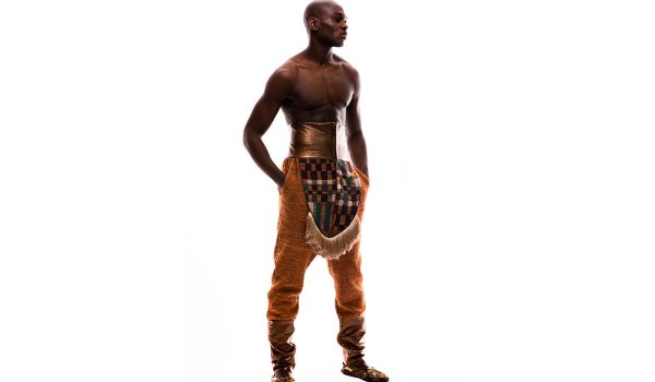 Buki Akib, Fela Collection, 2010. Knitted Trousers With Cotton And Lurex Detailed With Knitted Checked Squares And Tassels. Courtesy Of The Artist.