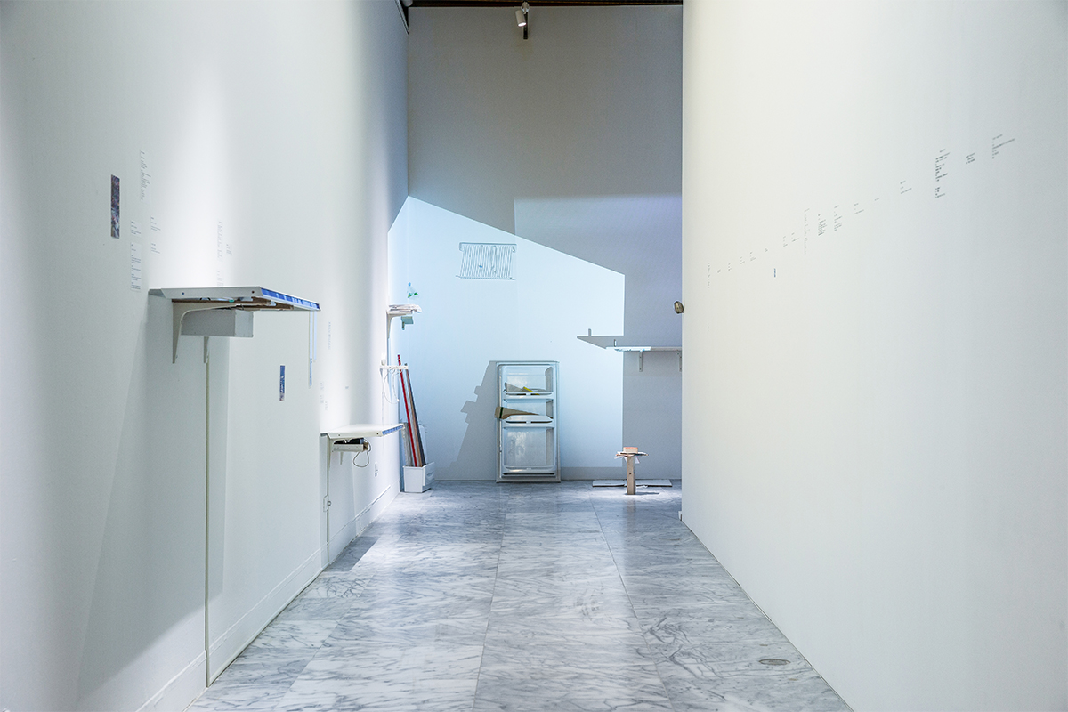 "Lin Yi Chun, ""To the Family"" and ""To the Resident"", 2015. Installation view. Courtesy of Taipei Fine Art Museum."