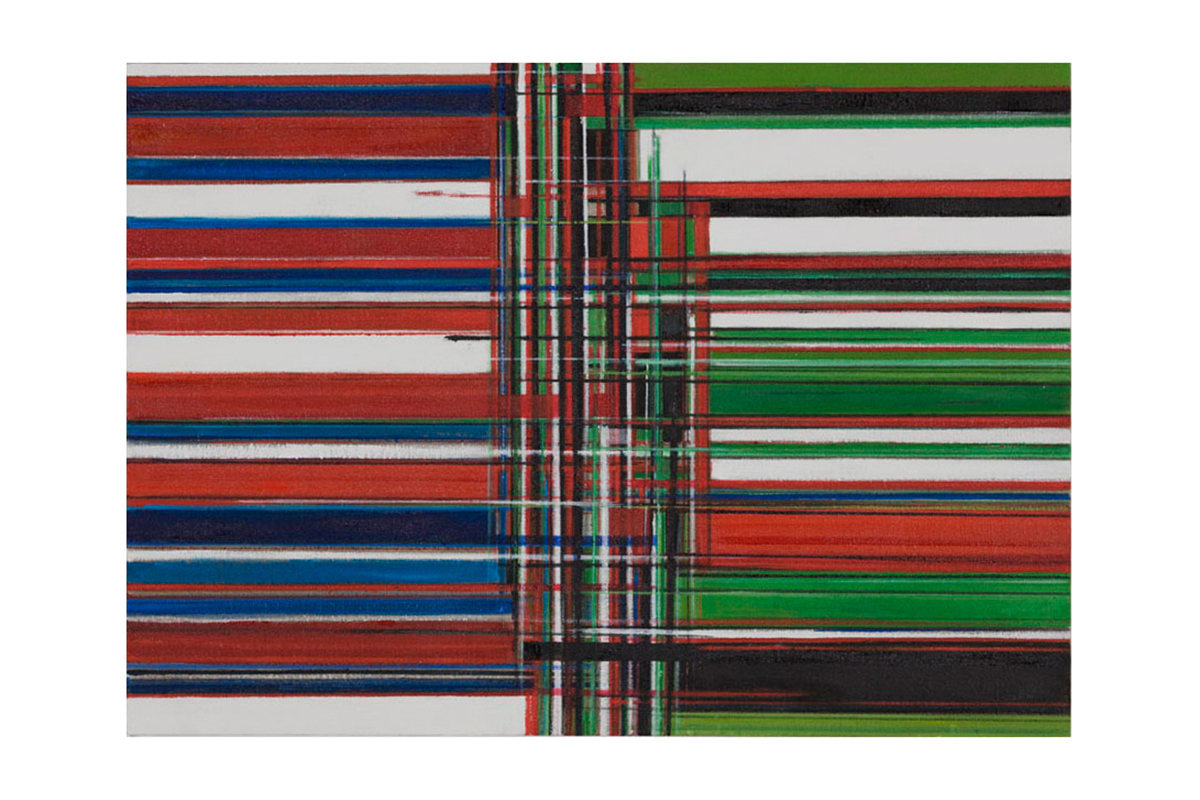 Renée Petropoulos, From England To Sudan, 2008-09. Oil on linen. 20 ⅛ x 28 inches. Coutesy of the artist.