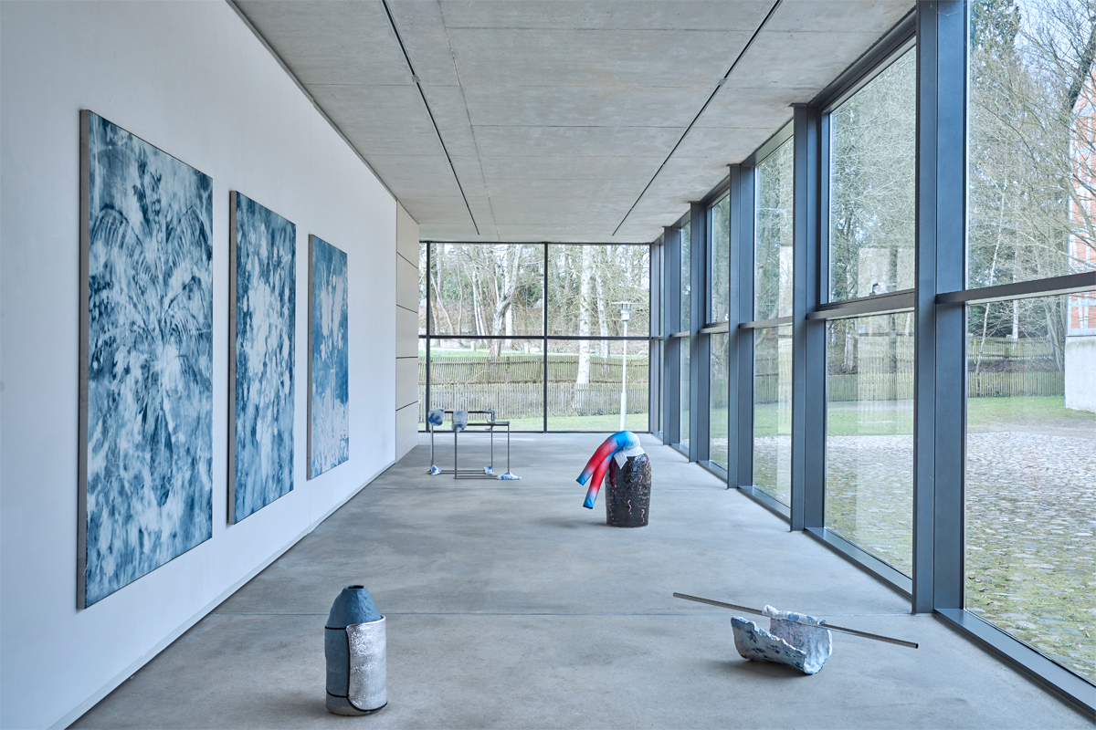Verena Schöttmer, Ghostwritings, 2017. Exhibition view. Gallery of Cultural Foundation Sparkasse Stormarn, Germany. Courtesy of the artist.