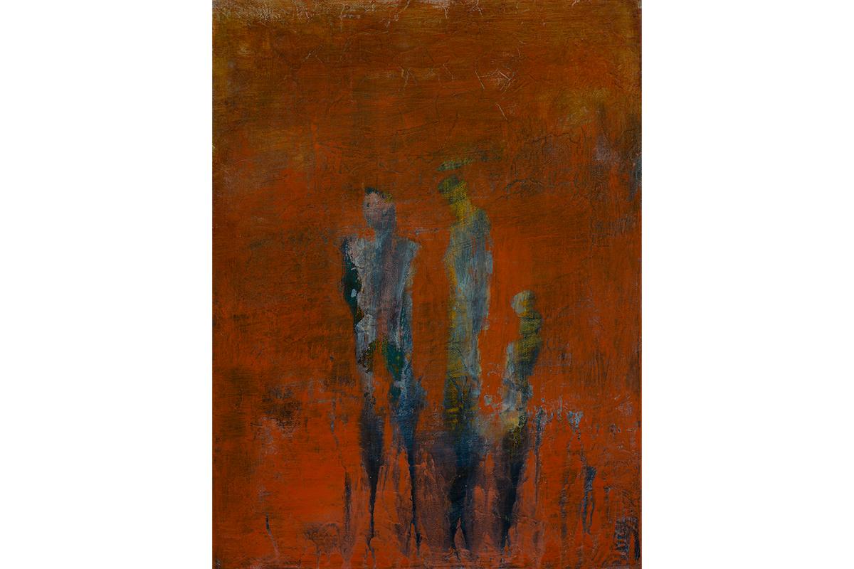 Wendy Edlen, Untitled 2. Acrylic with acrylic glaze. Courtesy of the artist.