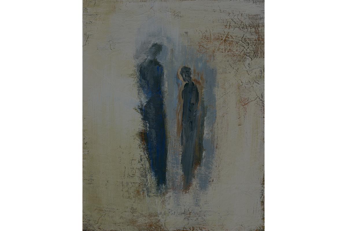 Wendy Edlen, Untitled 5. Acrylic with acrylic glaze. Courtesy of the artist.