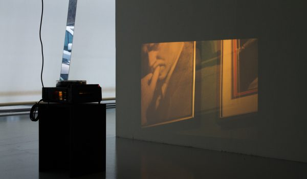 Stefan A. Pedersen, Powder Room, 2014. 35 Slides, Kodak Carousel Projector. Photo By Stefan A. Pedersen. Courtesy The Artist.