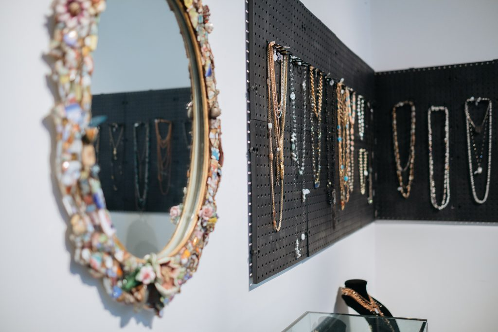 Paula Rosen's studio.