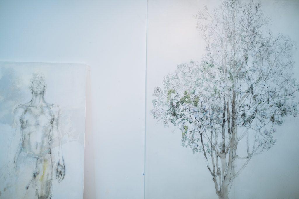 Lola del Fresno's studio.